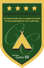 Attestation de classification d'établissement de camping